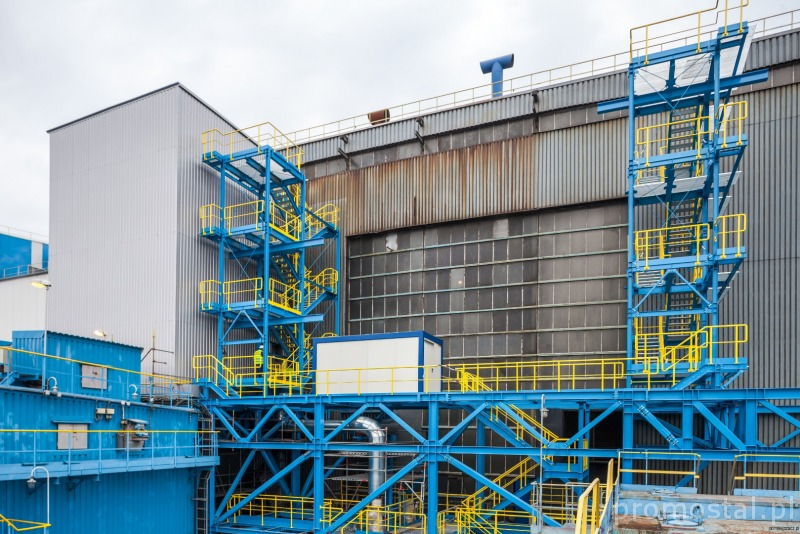Flue gas denitrification plant on the boilers of power station in ...